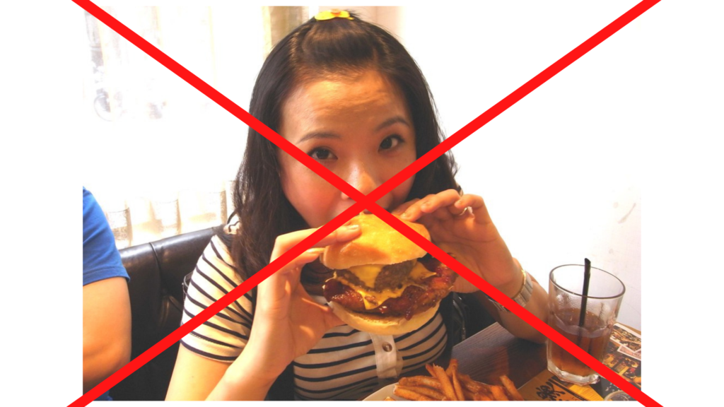 NO MORE EATING allowed due to COVID